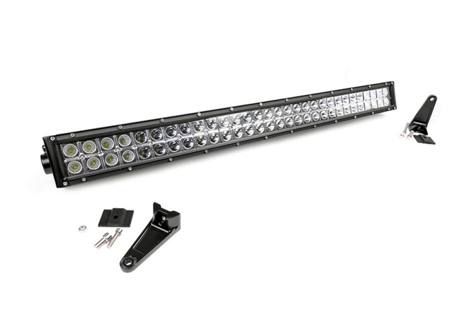30in cree led light bar dual row aloadofball Images